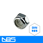 DIN 985 Nylon Insert Lock Nuts
