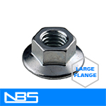 Gr.2 Large Serrated Flange Nuts
