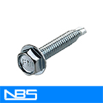 "TEK 2 HWH Reverse Serrated Self Drilling Screws (7/16"" AF)"